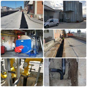 Αντικατάσταση συστήματος καύσιμης ύλης σε εργοστάσιο γαλακτοκομικών στα Τρίκαλα